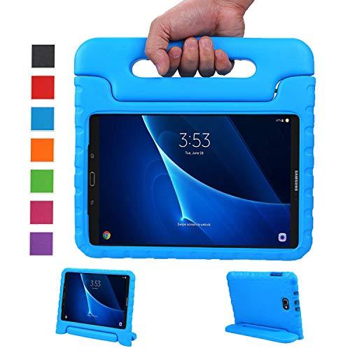 LEADSTAR Samsung Galaxy Tab A 10.1 (2016) Ligero y Super Protective Antichoque EVA Funda Diseñar Especialmente para los Niños para Samsung Tab A 10.1 T580N / T585N (Azul)