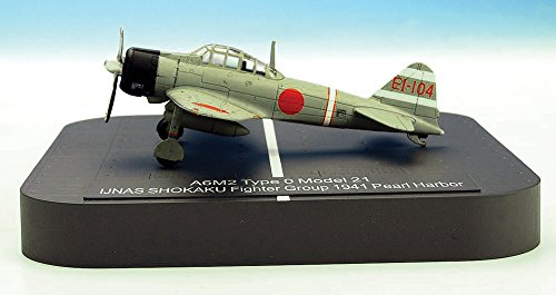 X PLUS A6M2 Zero Model 21 IJNAS SHOKAKU Fighter Group El-104 1941 Pearl Harbor (japan import)