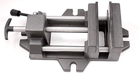 HHIP 3900-0186 Pro-Series High Grade Iron Quick Slide Drill Press Vise, 6