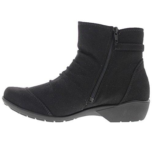 Ecco Genna, Baskets Hautes Femme Noir (Black)