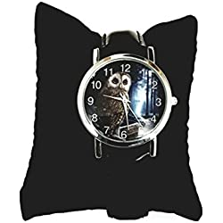 Way Of The Witch - Wrist Watch By Lisa Parker - Owl Watch