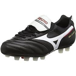 Mizuno - Mrl Classic Md, Scarpe da calcio Competizione Uomo, Black (Black/White/Red), 43