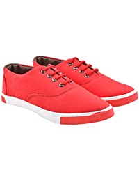 Walk Jump Men Solid Sneakers, Lifestyle Casual Shoes, Canvas Shoes For Men