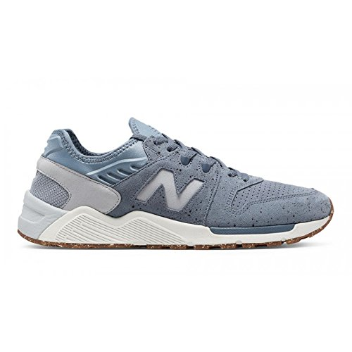 SNEAKER NB 009 SPECKLE SUEDE IN PELLE SCAMOSCIATA