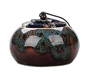 [Multicolor-3] Boîte à thé en céramique Boîtes à café Spice Jar Tea Caddy