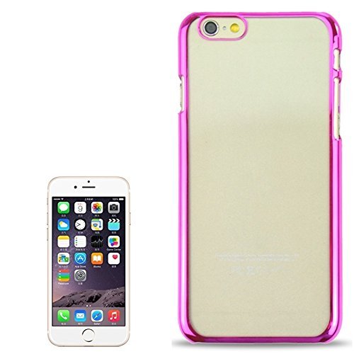 Pour IPhone 6 / 6S étui rigide de protection ultra doux ultra doux JING ( Color : Silver ) Magenta
