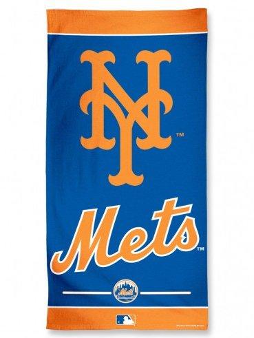 "Offizielles MLB ""New York Mets"" Strandhandtuch in 75x150 cm"