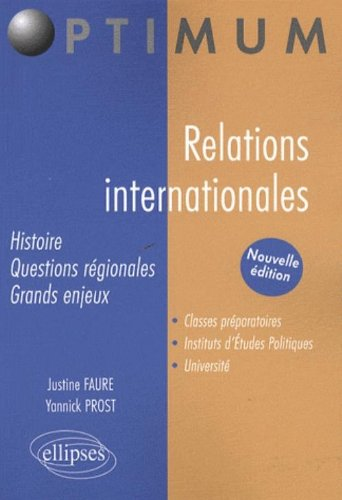 Relations Internationales Nouvelle Edition
