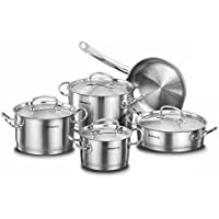 Korkmaz Acero Inoxidable Cocina Professional–Set de cocina de 9piezas A1150Proline