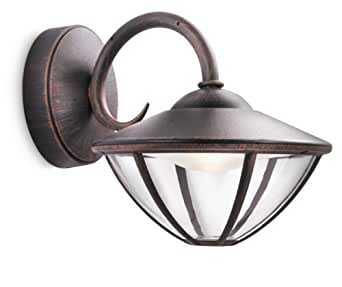 Philips eden lampada da parete da esterno lanterna down - Lampade da esterno philips ...