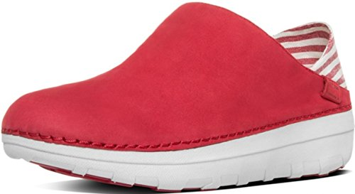 FitFlopTM SuperloaferTM (Canvas) 5 UK Classic Red