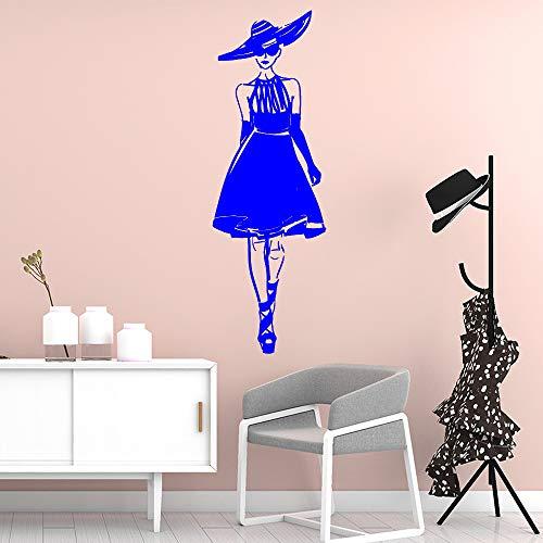 guijiumai DIY Rock Frau Morden Selbstklebende Vinyl wasserdicht wandkunst Aufkleber für kinderzimmer kinderzimmer dekor Kunst Aufkleber 1 l 43 cm x 130 cm