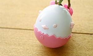 GYwink Jouet de Divertissement pour Animaux Gobelet électrique Jouet Poulet en Forme de Balle en Peluche Pet Scratch Toy pour Les Jouets de Formation de Chat (Rose) Jouet d'animal familier