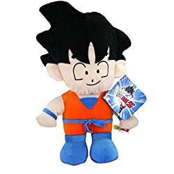 Peluche Dragon Ball Son Goku super soft 33 cm aprox
