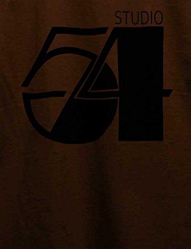 Studio54 Logo T-Shirt Braun