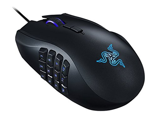 Razer Naga Chroma – Ergonomic MMO Gaming Mouse – World's Most Precise 16,000 DPI Sensor 41ecZxB3MoL