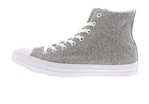 Converse Ctas Hi Gray White, Sneaker a Collo Alto Unisex – Adulto Grau (Gray/White/White)