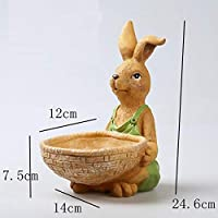 Codoyco_urnsD Creative Rabbit Tv Cabinet, Debris, Pen Holder, Storage Ornaments