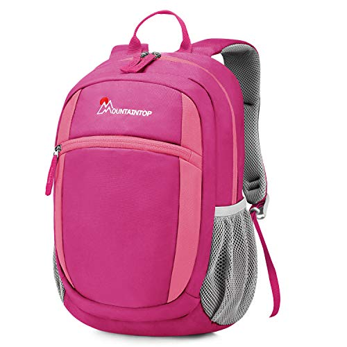 Mountaintop 8L Kinderrucksack Kindergartentasche Kleiner Tagesrucksack Kleine Schultasche für Mädchen Jungen