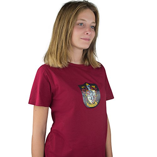 Cinereplicas Harry Potter T-Shirt - Triwizard und Quidditch Stil - Offiziell