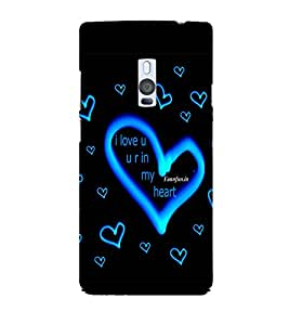 Print Zone Printed Hard Back Case Cover For Oneplus 2 - Multicolor