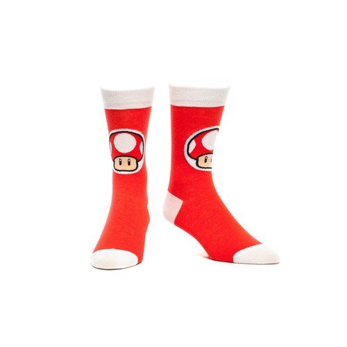 Nintendo Socken - Mushroom Rot (39-42)