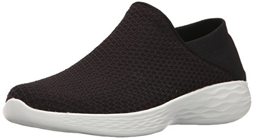 Skechers Damen You Slip On Sneaker Schwarz (Bkw)