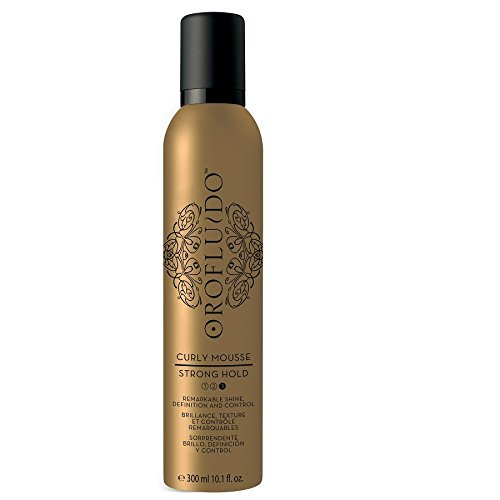 ISOWO SERVICES SL** Orofluido curly mousse strong hold  #3188