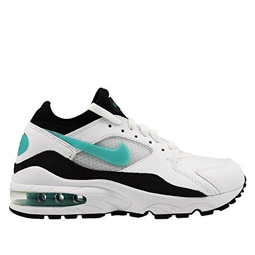 Nike - Wmns Air MAX 93-307167100 - El Color Blanco-Negro - Talla: 37.5