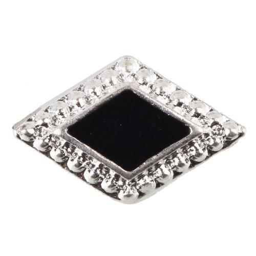 Beauty7 Nail Art 10Pcs Strass Gemme 3D Premium Alliages Bijoux Pour Ongle Manucure