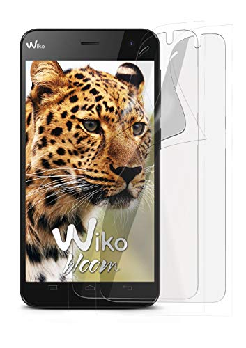 2X Wiko Bloom | Schutzfolie Matt Bildschirm Schutz [Anti-Reflex] Screen Protector Fingerprint Handy-Folie Matte Bildschirmschutz-Folie für Wiko Bloom Bildschirmfolie