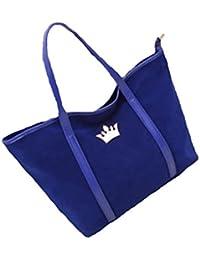 nouvelle célébrité de mode de sac d'épaule grande couronne de velours sac fourre-tout et sac de Voyage, bleu , violet, rose chaud, noir