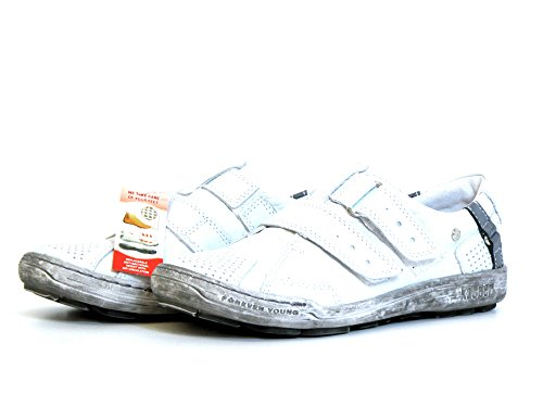 Kacper Damen flache Slipper weiss (weiß) 2-4309 438 Weiß