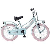 cc53603c514777 Vélo Enfant Fille Popal Lola 16 Pouces Frein Avant sur le Guidon et Arrière  à Rétropédalage
