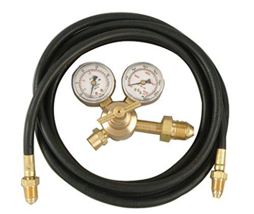 Radnor AF-150-580H Victor Style Regulator Flowgauge With 10' Hose CGA-580 by Radnor (Af-hosen)