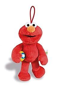 NICI 41965Material Peluche Relleno: Relleno (plástico 100% poliéster Ojos: Sesam Calle Colgante Monster Elmo, 15cm, Color Rojo