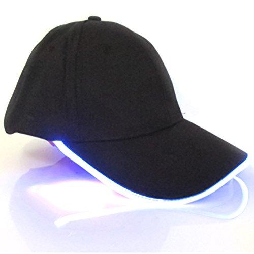 LYCOS3 Gorra de béisbol luz LED
