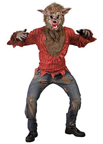 alloween-Werwolf-Kostüm der Erwachsenen Männer ()