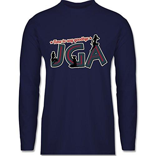 Shirtracer JGA Junggesellenabschied - JGA Pinup Girls - 3XL - Navy Blau - BCTU005 - Herren - Ideen Für Ein Pin Up Girl Kostüm