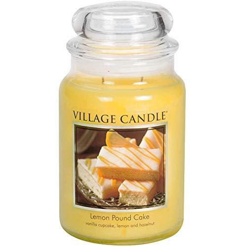Village Candle Duftkerze 17 x 10 cm 1219 g Zitronenkuchen