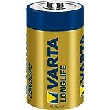 Varta Longlife Batterien Extra Batterie D Mono LR 20 Made in Germany 4er Pack