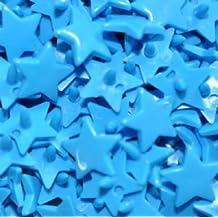 Kam Jeu Star-Taille 20–B08 Bleu clair - 100 Sets