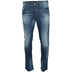 DIESEL - Jeans - Slim - Homme Bleu Bleu Denim W38