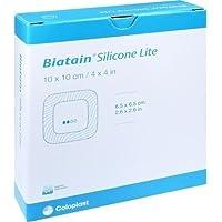 BIATAIN Silicone Lite Schaumverband 10x10 cm 10 St preisvergleich bei billige-tabletten.eu