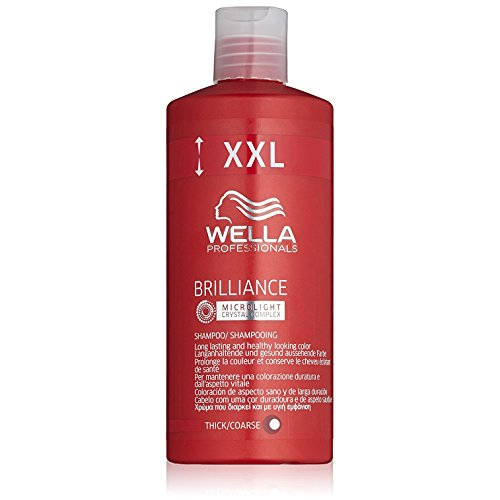 WELLA Care Brillance Shampooing Cheveux Epais 500 ml Taille XXL