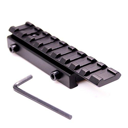 Triplespark Schiene Adapter Weaver Stil Mount Adapter Verzahnung Schiene Verlängerung (Weaver-schiene Halterungen)