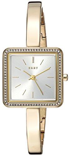 DKNY WOMEN'S 24MM GOLD-TONE STEEL BRACELET & CASE QUARTZ ANALOG WATCH NY2558