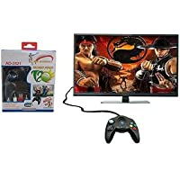 OANGO ® Advance tv Video Games 108000 8 bit Games/ Cricket Edition/ No Battery Required/ USB Power/ Compatible led, LCD…