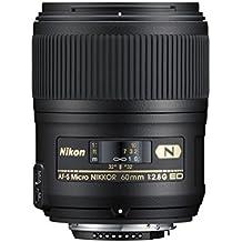 Nikon AF-S Micro NIKKOR 60 mm f/2.8G ED - Objetivo (distancia focal fija 60 mm, apertura f/2.8), color negro