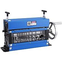 Lumche Máquina de Pelacable Manual Φ1.5mm a Φ40mm Máquina Peladora de Cables con 10 Canales de Pelar y 1 Canal de Triturar Cable Wire Stripping Machine ...